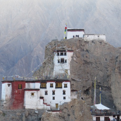 Dhankar Gompa as we saw it from a distance