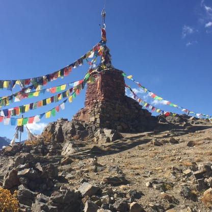 The Chorten at Gette