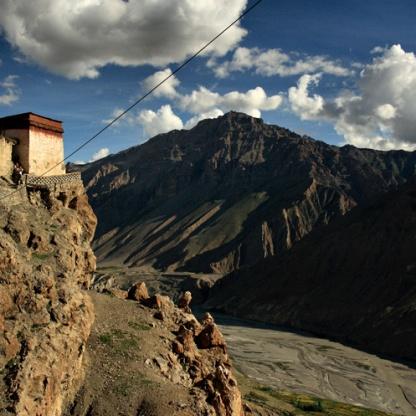 Steps to Dhankar Gompa (Pic Source: Spiti@IncredibleSpiti.com)