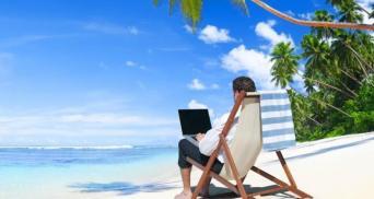 Work on beach_medium