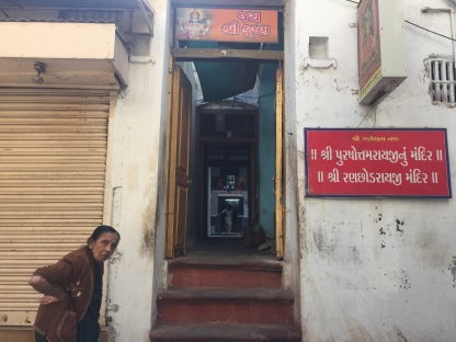 Pic 9: The entry to the Pol temple where we met Baa