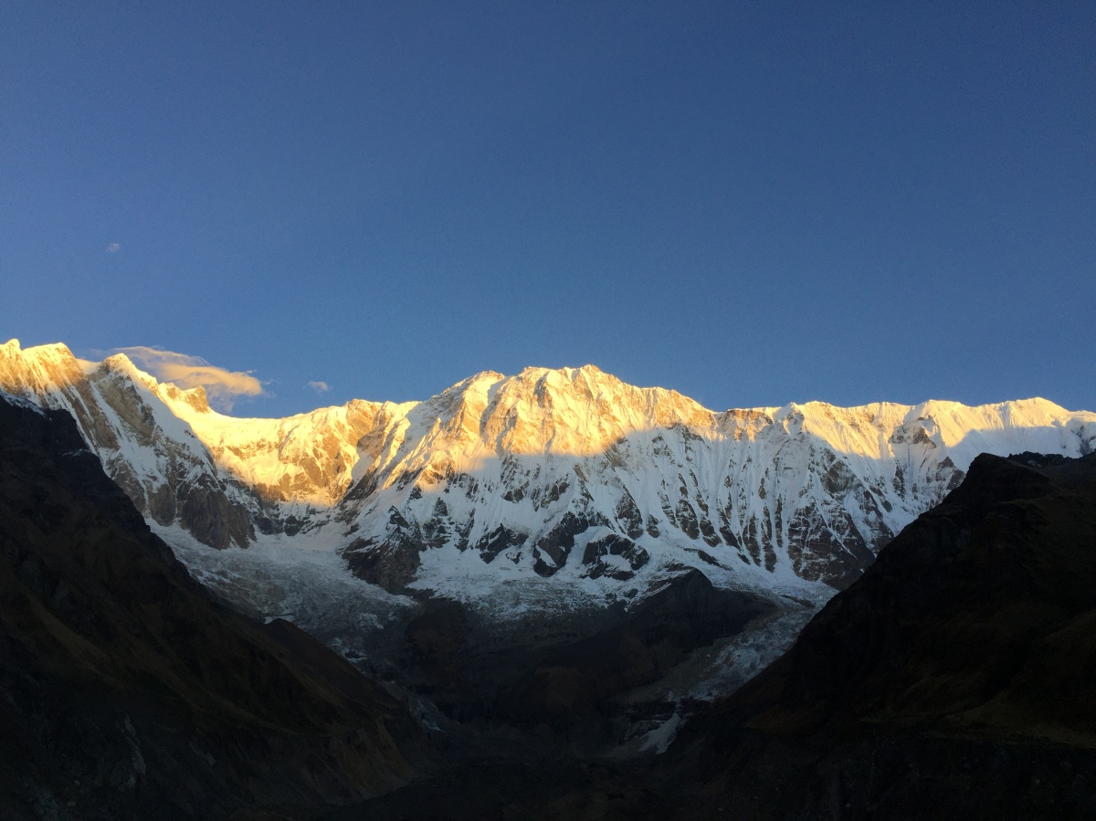 Mt. Annapurna – Up Close and Personal